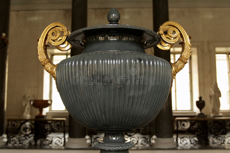 Ancient Marble Bowl Stock Image