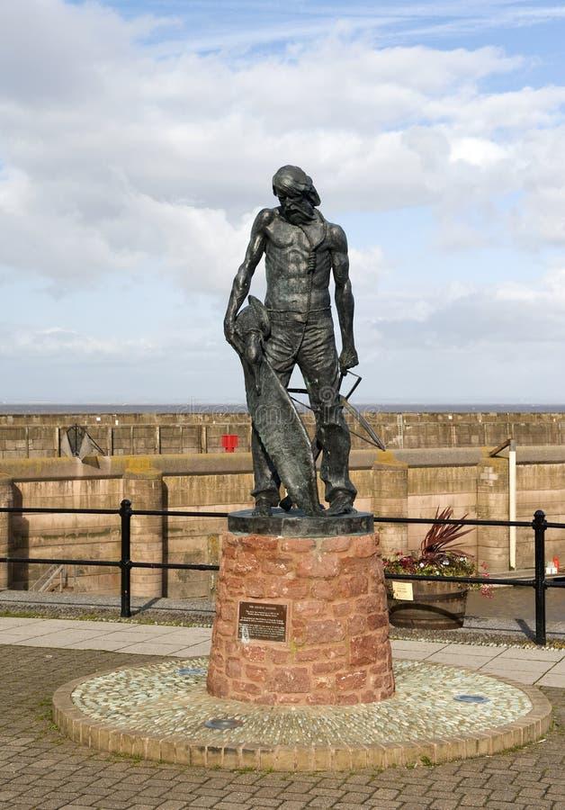 Download Ancient Mariner Statue Watchet Harbour Stock Photo - Image: 16612584