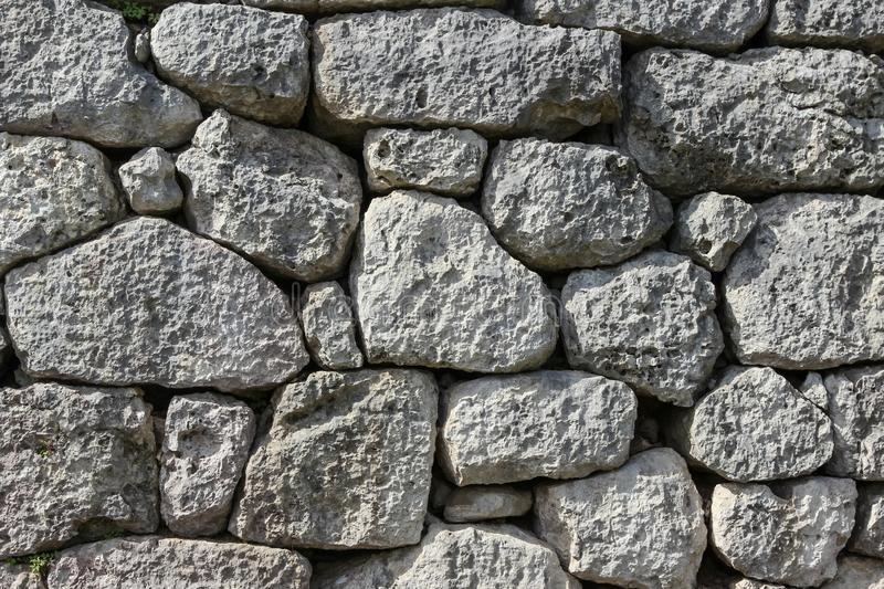 Ancient masonry stones wall, background.  stock images