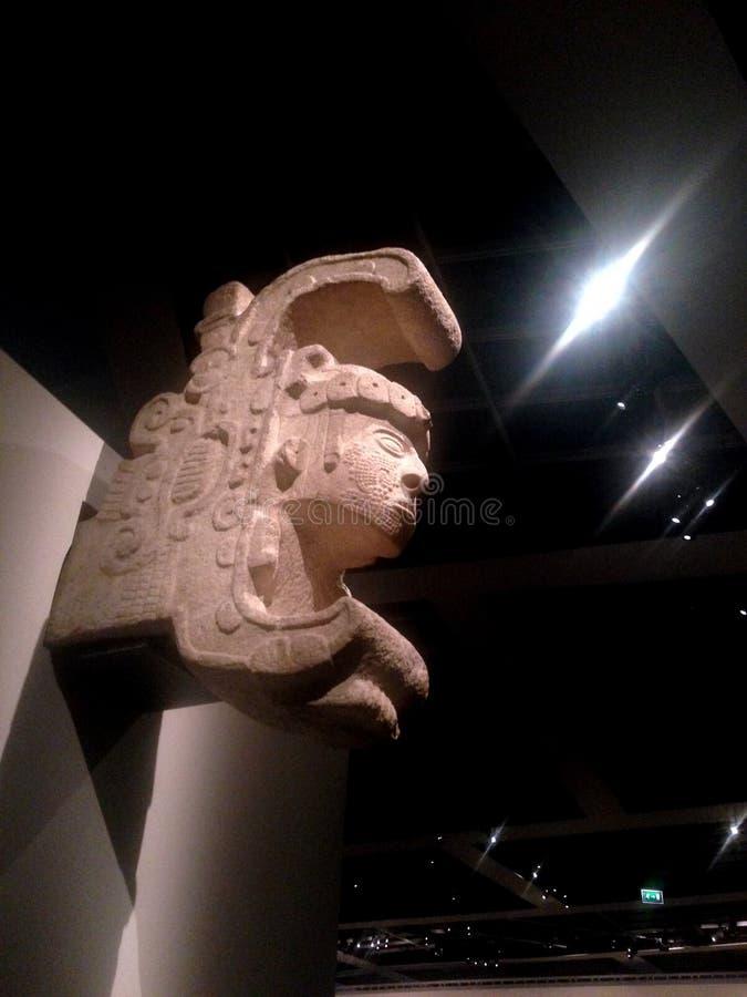 Ancient Maya Art stock image