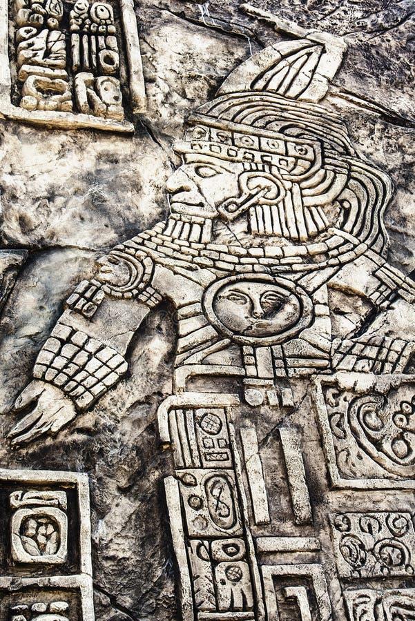 Ancient Mayan Hieroglyphics Stock Photo Image 60186524