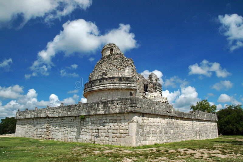 Download Ancient Mayan Observatory stock photo. Image of society - 3434154