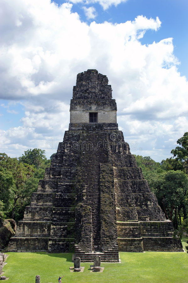 Free Ancient Mayan Pyramid Stock Image - 7157171