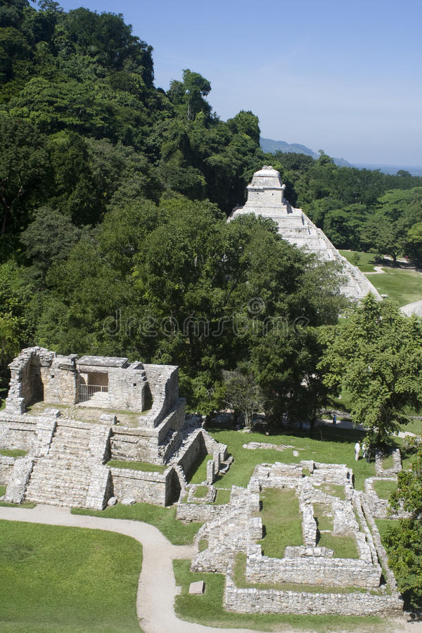 Download Ancient Mayan ruins stock image. Image of mysterious - 12429857
