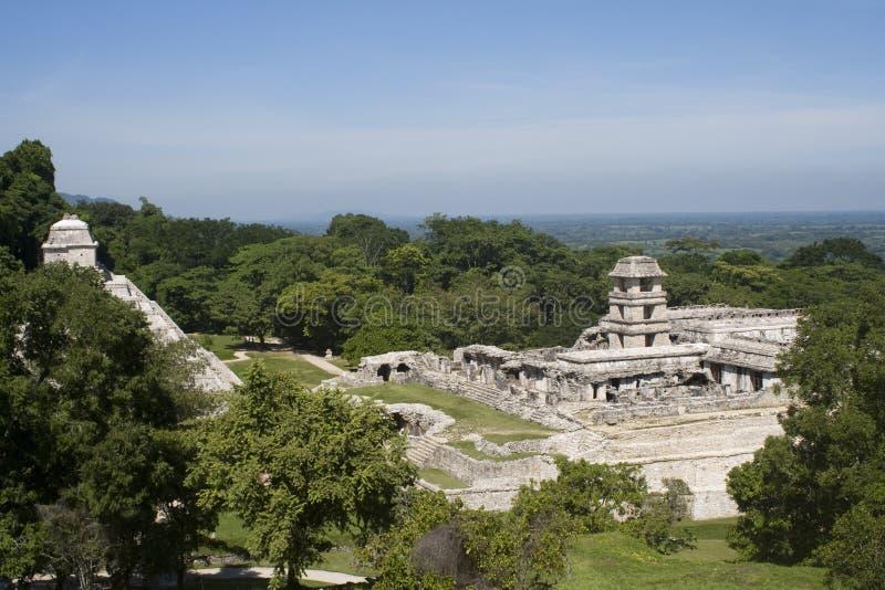 Ancient Mayan ruins stock photos