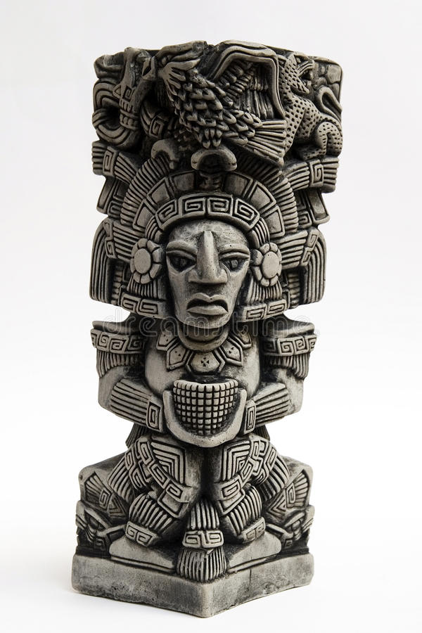 Free Ancient Mayan Sculpture Stock Image - 12675291