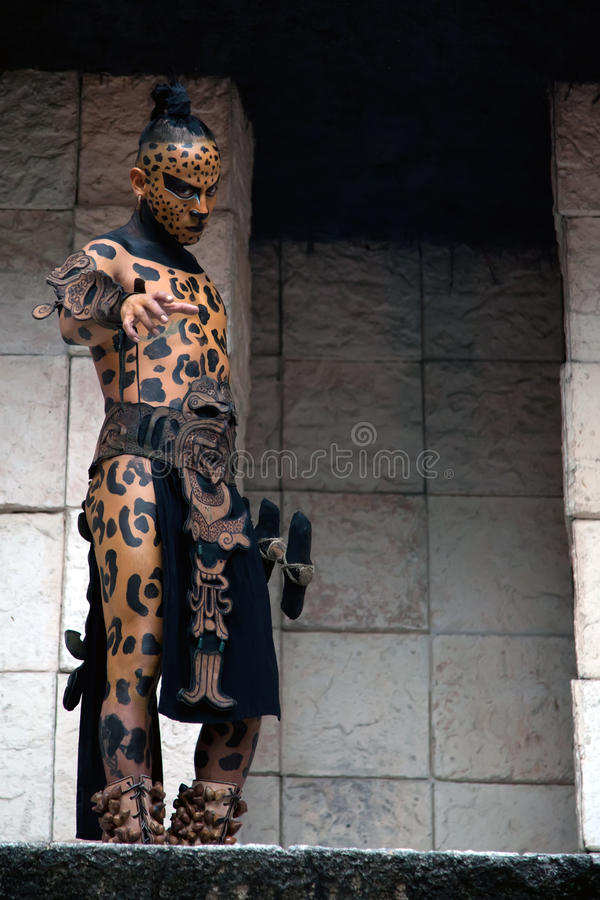 Free Ancient Mayan Warrior Stock Photography - 23878282
