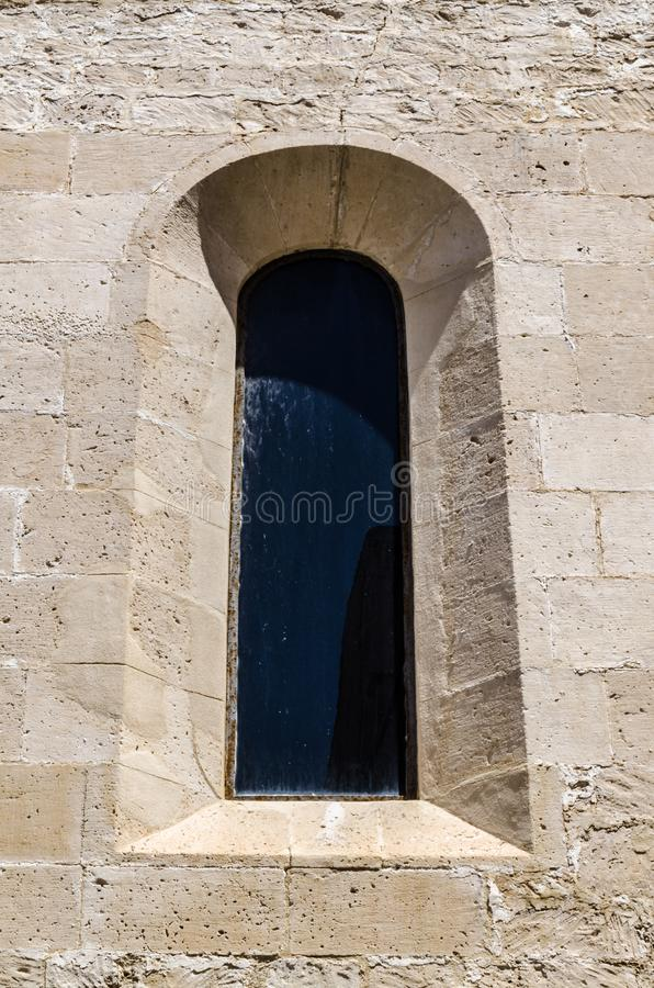 Ancient medieval window royalty free stock images