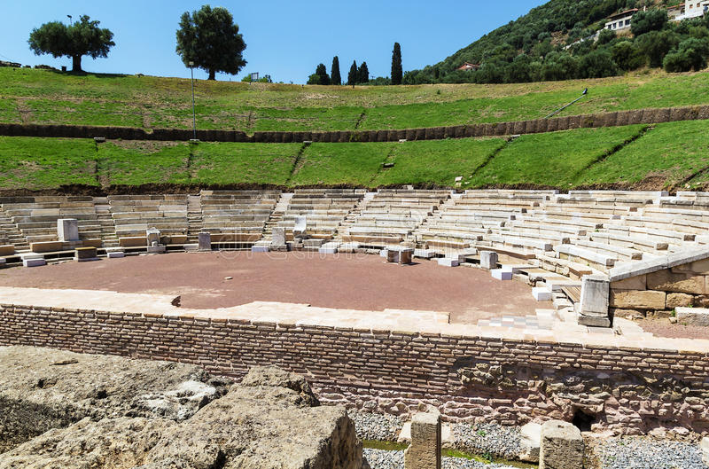 Download Ancient Messene, Greece stock photo. Image of monument - 32413122