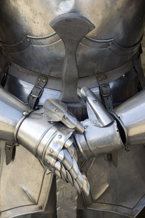 Ancient Metal Armor Stock Photo