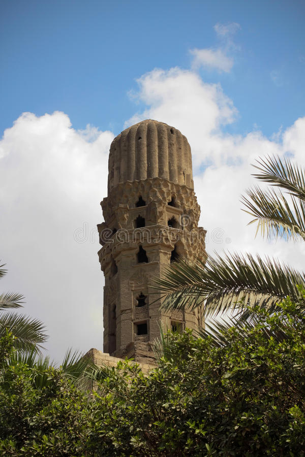 Ancient minaret