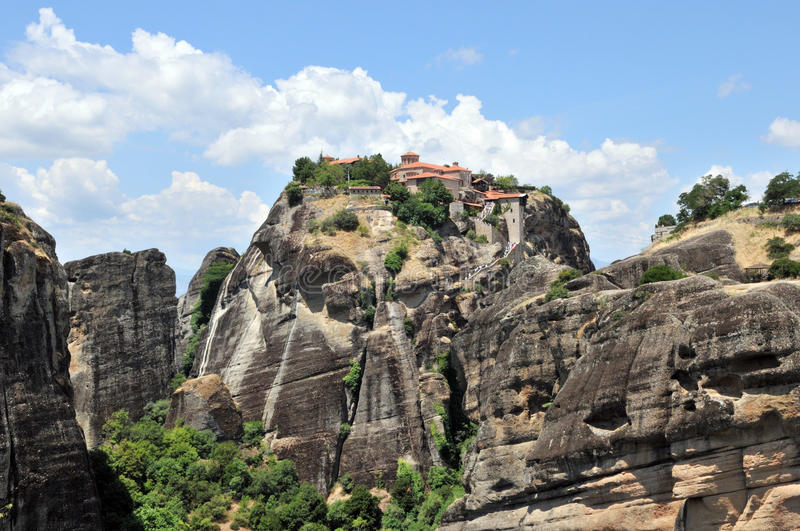 Download Ancient Monastery In Meteora, Greece Stock Image - Image: 20601873