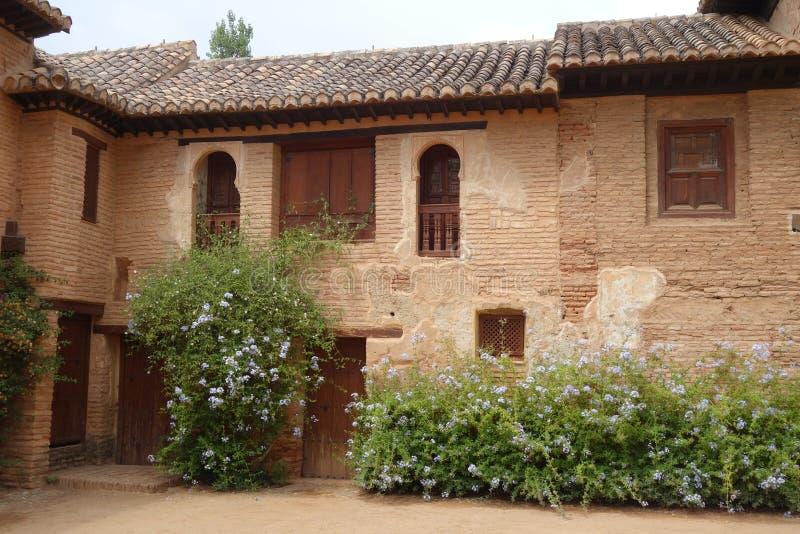 Alhambra at Granada, Spain stock photography