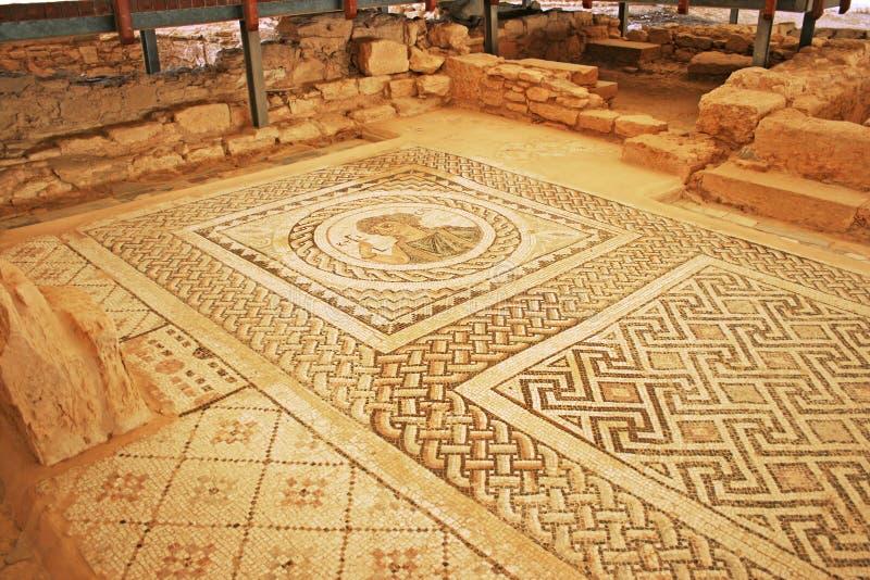 Ancient mosaic royalty free stock photos