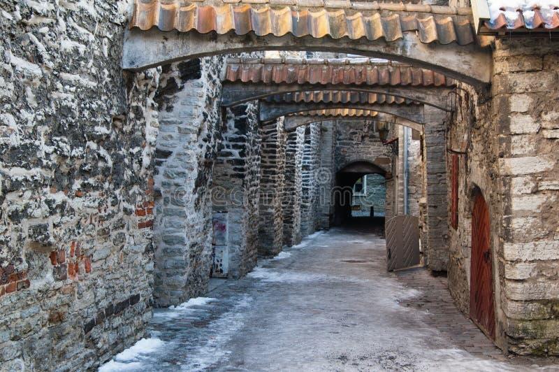 Ancient narrow street