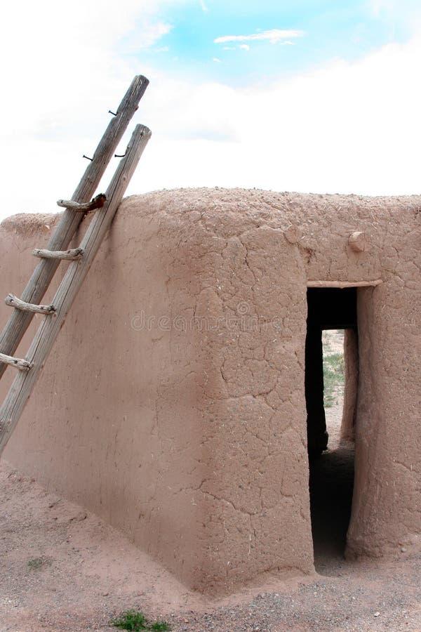 Ancient Native American Ruins. In New Mexico at Coronado royalty free stock photo