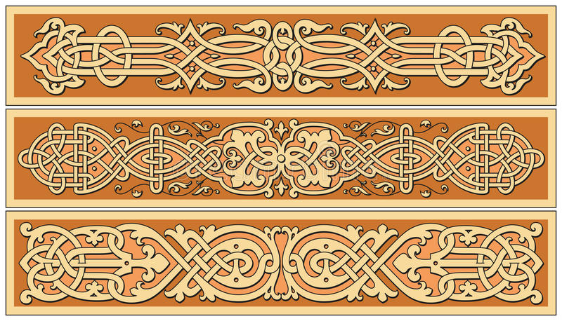 Download Ancient Old Russian  Pattern Stock Vector - Image: 17598839