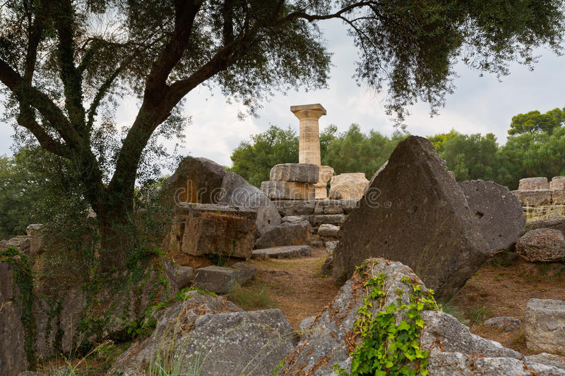 Ancient Olympia. stock images