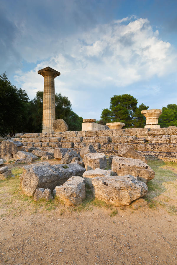 Ancient Olympia. royalty free stock photography