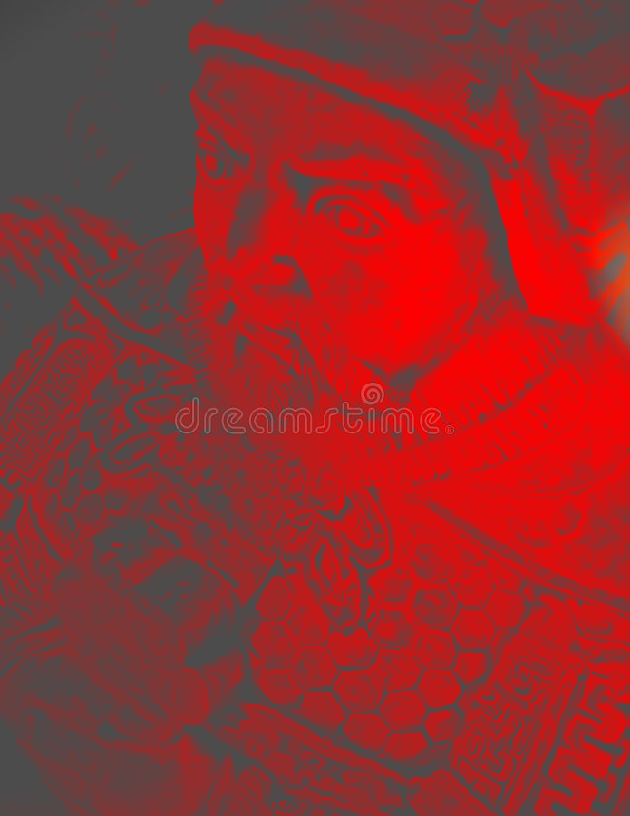 Download Ancient oriental warrior stock illustration. Image of soldier - 69340
