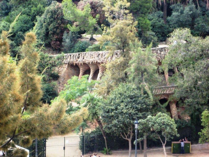 Ancient overgrown building