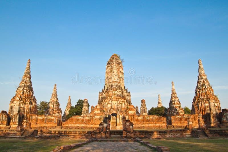 Ancient pagoda-Ayutthaya Thailand