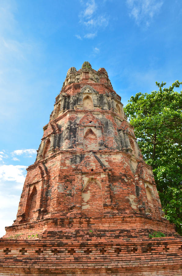 Download Ancient Pagoda With Blue Sky Stock Photo - Image: 25370648