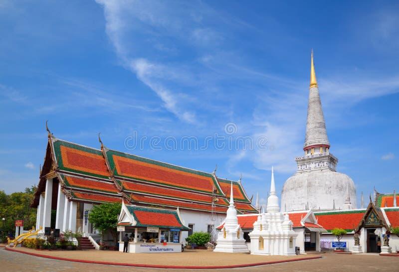 Ancient Pagoda , Nakhon Si Thammarat ,Thailand. Ancient Pagoda in Wat Mahathat temple, Nakhon Si Thammarat ,Southern of Thailand royalty free stock photography