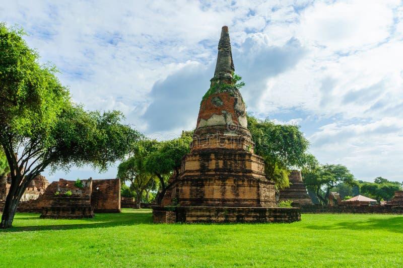 Ancient pagoda. The Ancient pagoda are Thailand stock photo
