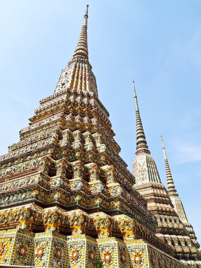 Download Ancient Pagoda In Wat Pho, Bangkok, Thailand Stock Image - Image: 21079853
