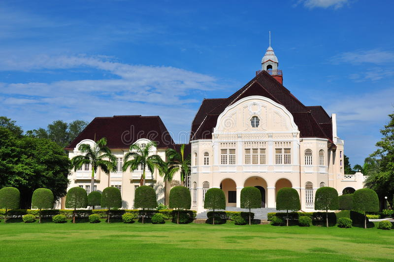 Download Ancient palace stock photo. Image of petchaburi, green - 22310388
