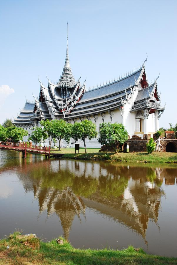 Download Ancient Palace Model In Thailand Stock Photo - Image of model, refection: 14508022