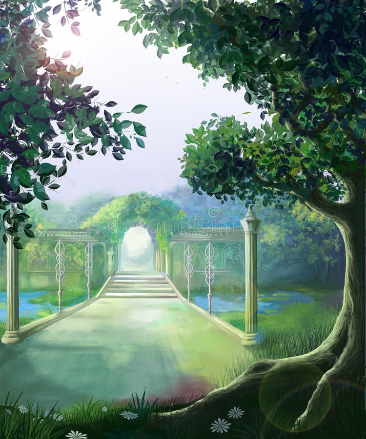 Download Ancient Park Royalty Free Stock Photos - Image: 23837798