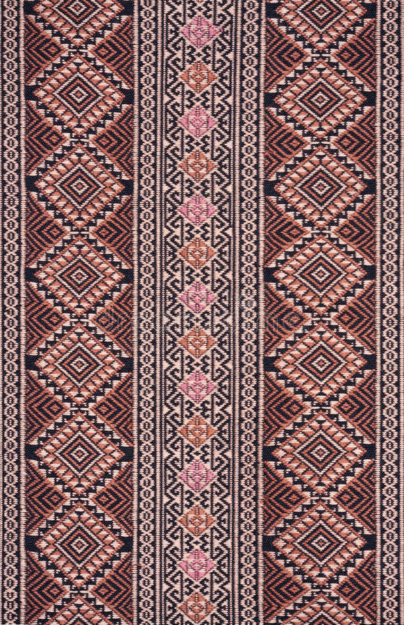 Download Ancient Pattern Style Thai Cotton Stock Photo - Image: 26056220