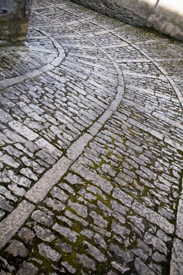Download Ancient pavement stock image. Image of pediment, roadway - 24751735