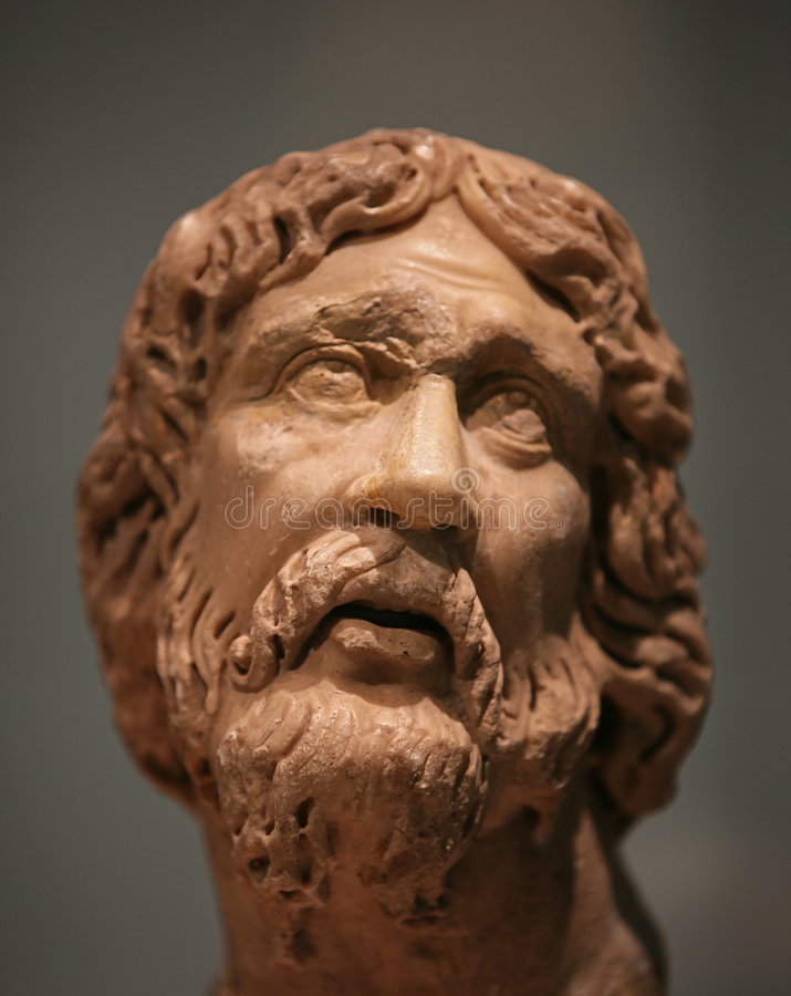 Download Ancient philosopher stock image. Image of bust, masterpiece - 1637971