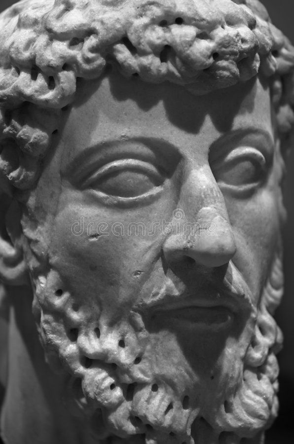 Ancient Philosopher Royalty Free Stock Images