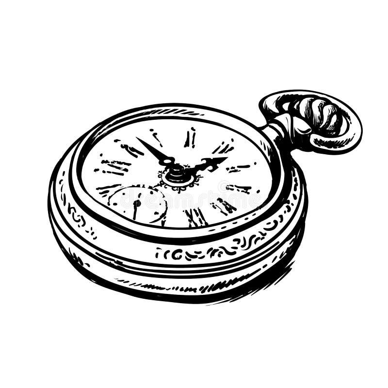 Free Ancient Pocket Watch Stock Photo - 112192520