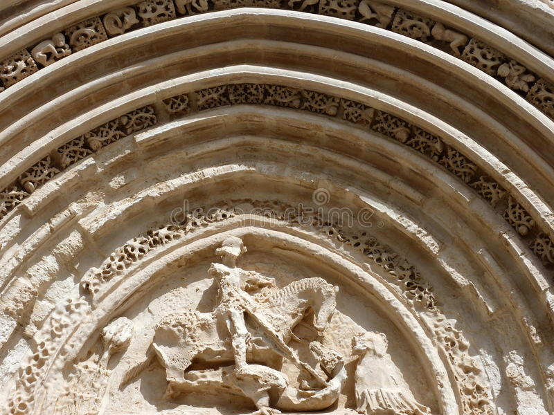 Download Ancient Portal Of St. George, Ragusa Ibla. Stock Image - Image: 19586633