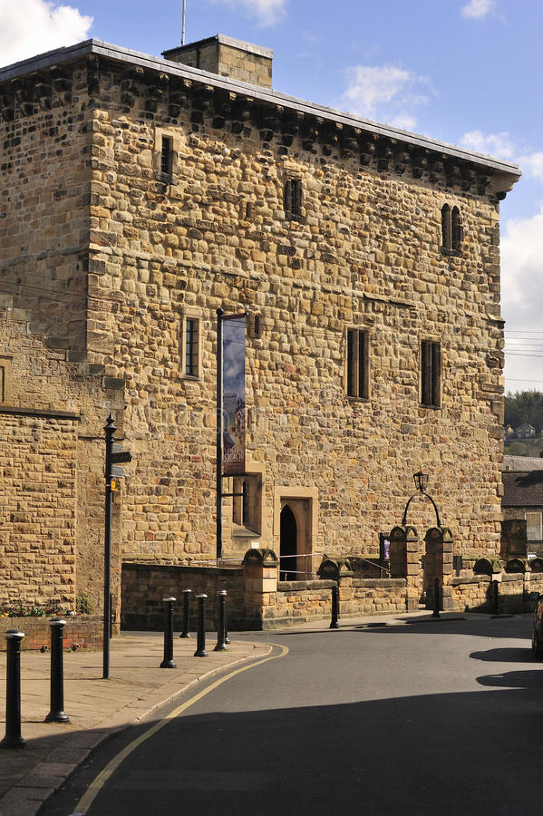 Ancient Prison, Hexham, England Stock Photography