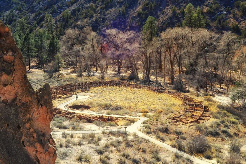 Ancient Pueblo Ruins royalty free stock photography