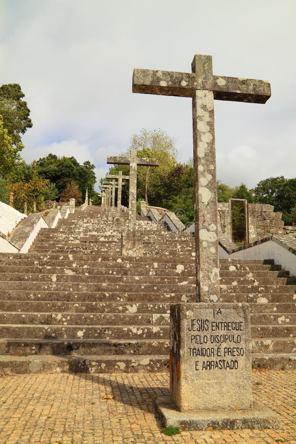 Ancient Religious Staircase Royalty Free Stock Image