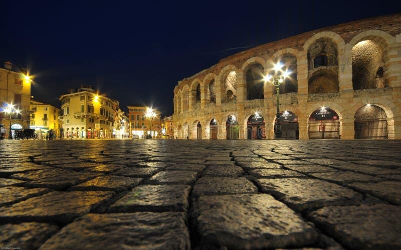 Download Ancient Roman Amphitheatre Arena In Verona, Italy Stock Image - Image: 12192681