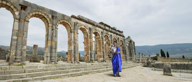 Ancient Roman, Roman Citizen, Ruins stock photography