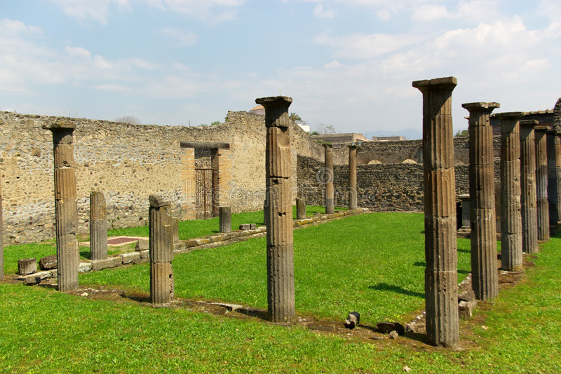 Download Ancient roman columns stock photo. Image of colonnade - 2409152