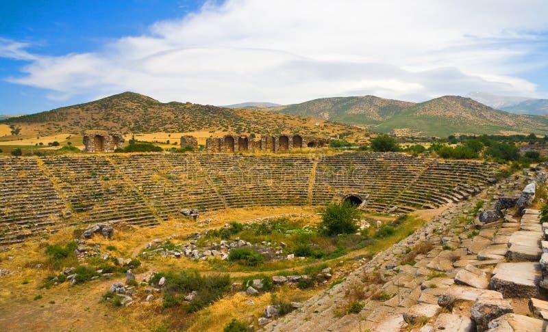 Ancient roman stadium royalty free stock image
