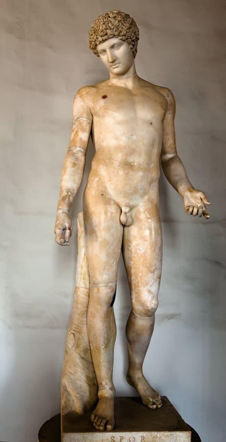 Download Ancient Roman statue stock photo. Image of antique, built - 26531904