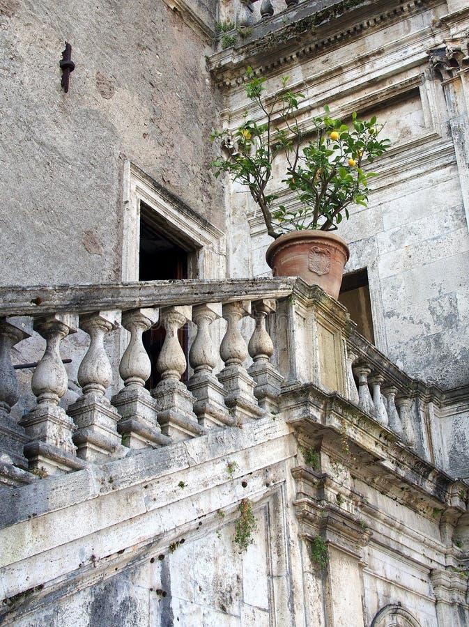 Ancient Roman Villa, Tivoli, Italy royalty free stock image