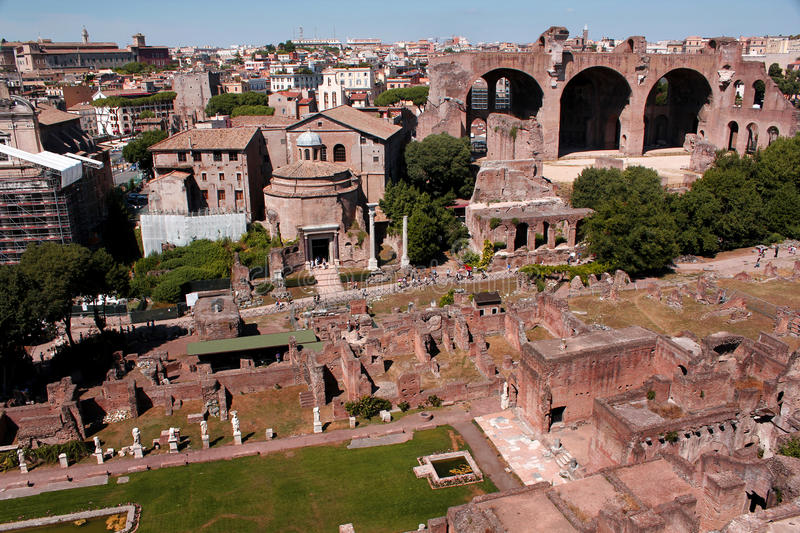Download Ancient Rome stock photo. Image of temple, cityscape - 21047590