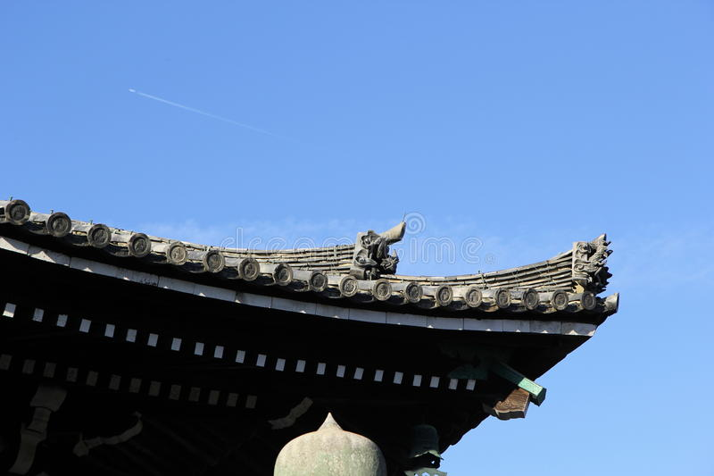 Ancient Roof royalty free stock image